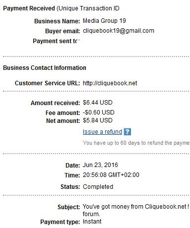 Cliquebook - cliquebook.net Cliquebookpayment