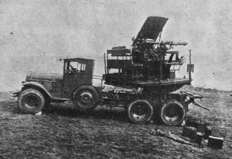 Multiple Machine Gun Motor Mount T1 (М 1:35) 3c957ef24e80