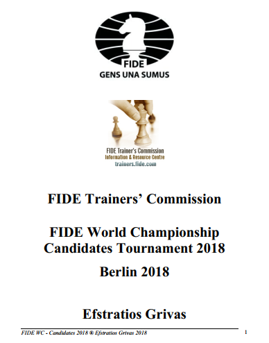FIDE World Championship Candidates Tournament 2018 - Efstratios Grivas Capture