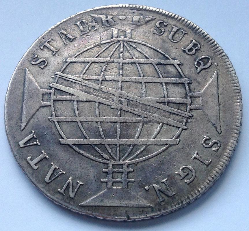 960 reis 1816 Río de Janeiro (R) - Juan, Príncipe Regente - Brasil Image