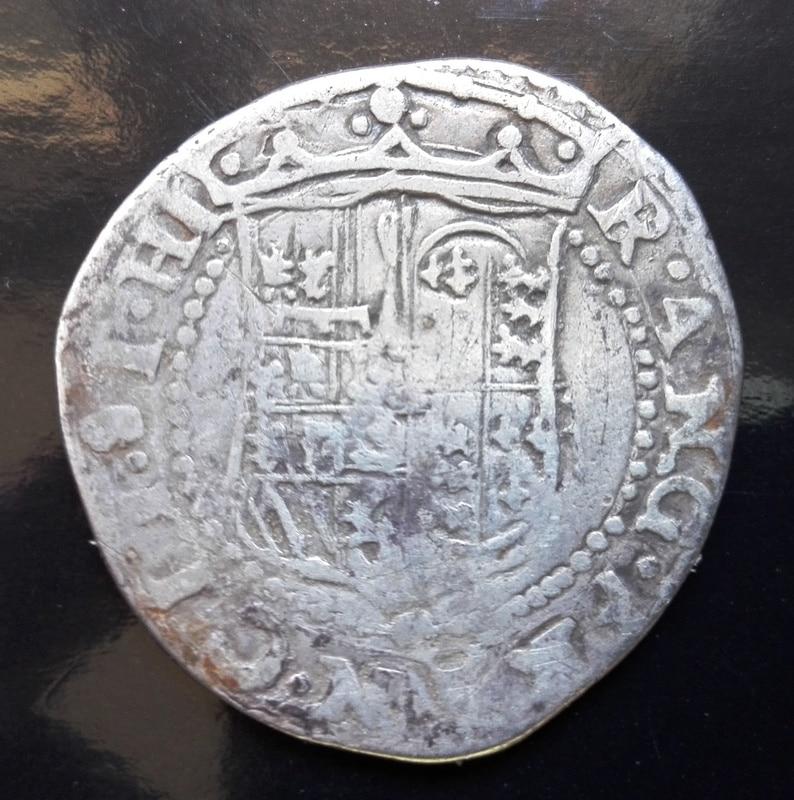 1 tari, Felipe II como príncipe de España y rey de Inglaterra Tari_felipe_II_princep_3