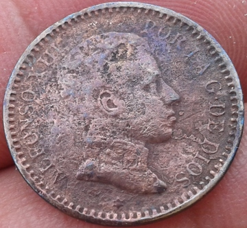 2 céntimos 1905. Alfonso XIII. Corrosión 2_centimos_Alfonso_XIII_1905_1