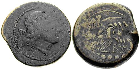 Glosario de monedas romanas. DEXTANS. Image