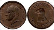 LUNDY - ½ Puffin 1929 Gran_Breta_a_Lundy_1_Puffin_1929