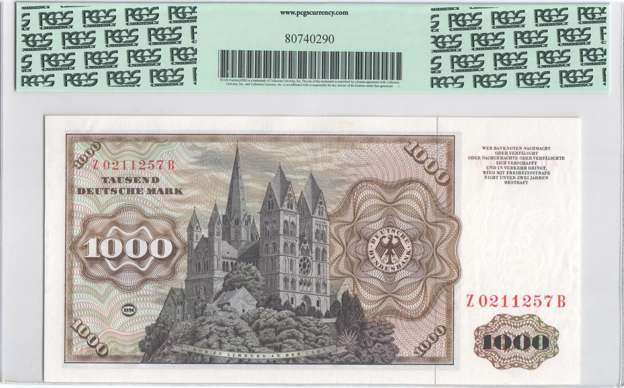 Billetes de reemplazo, no españoles - Página 2 Ger1000r