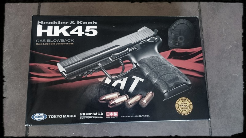[Vente] Hk45 Tokyo Marui, Neuf 2 Chargeurs ! Photos In ^^ 20160715_125310