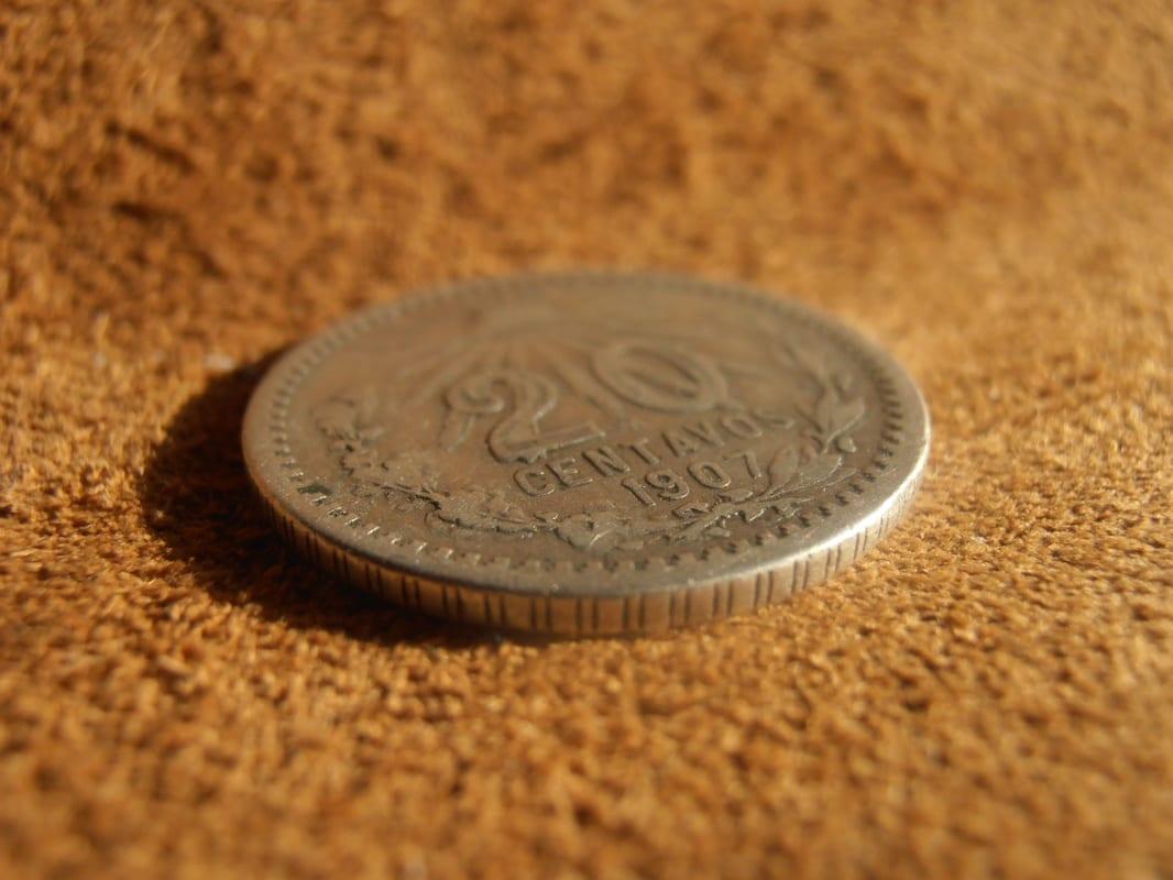 20 centavos resplandor México de 1907 P2270006