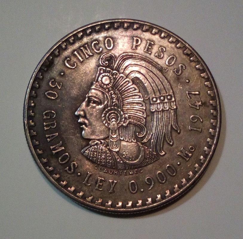 5 Pesos Mexicanos 1948 ¿son falsos? IMG_20160709_134219_183