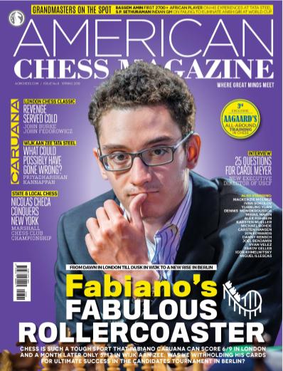 American Chess Magazine  -  Spring  2018 Capture