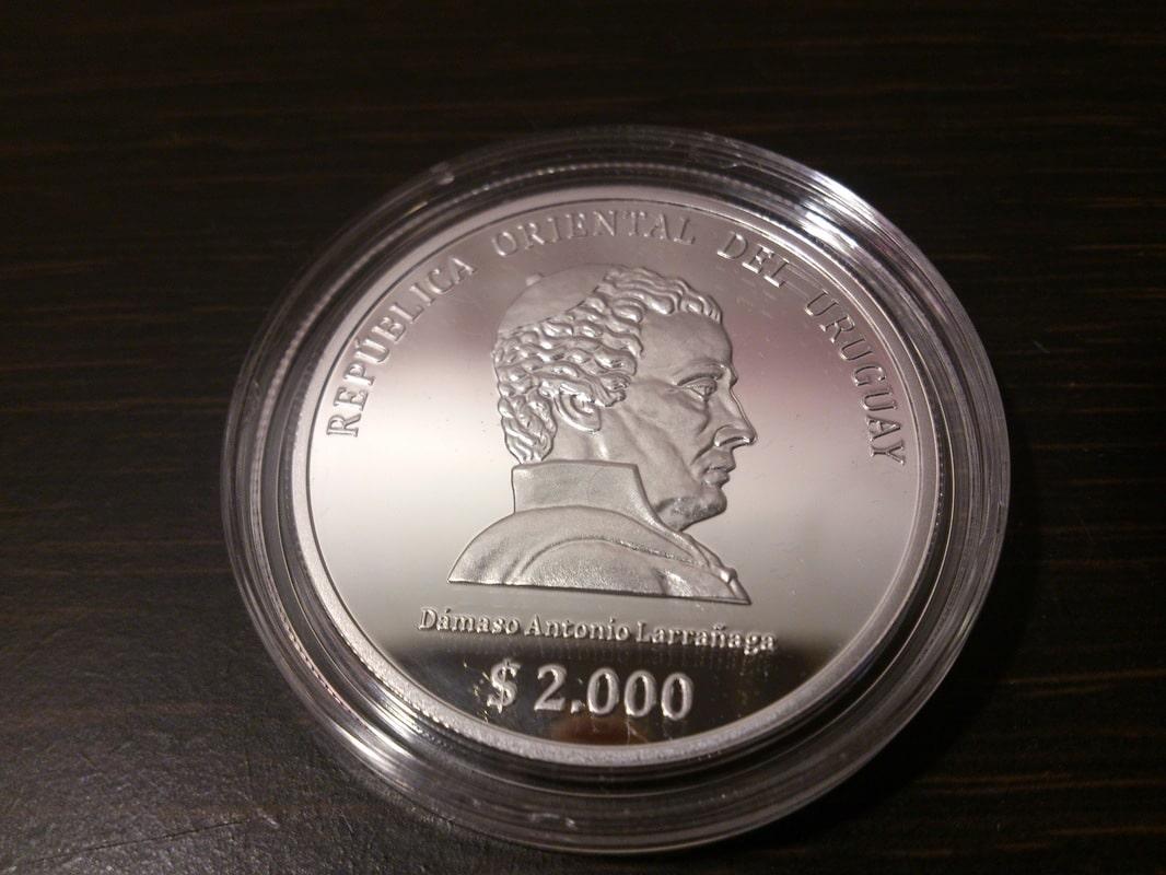 Monedas conmemorativas de Uruguay acuñadas en plata 1961 - Presente. - Página 2 DSC_9448