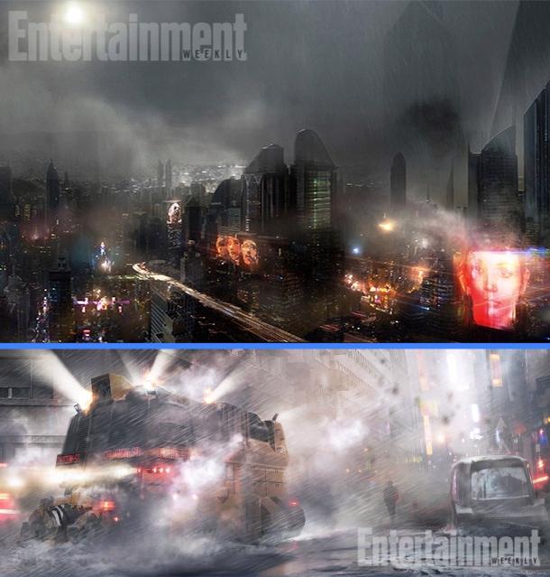 The Bizarre Meteorology of 'Blade Runner' Victor_Martinez_concepts