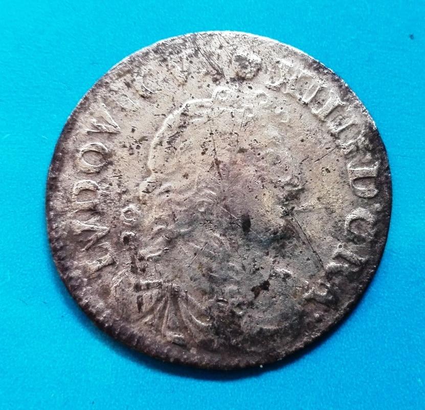 4 sols luis XIV 1677, Lyon 4_sols_luis_XIV