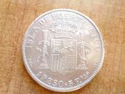 1 peso Alfonso XIII 1895 Puerto Rico. P1340890