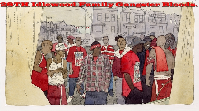 28th Idlewood Family Gangster Bloods