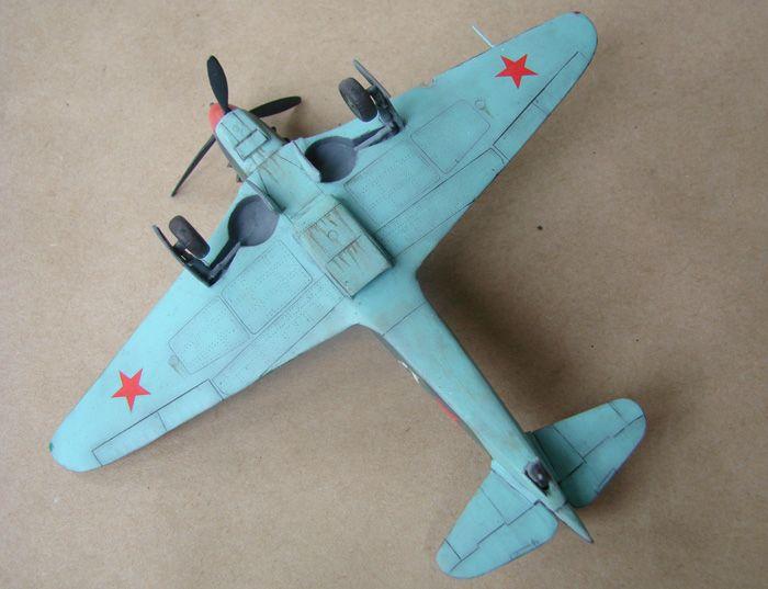 Yakovlev Yak-9early, Valom, 1/72 DSC02002