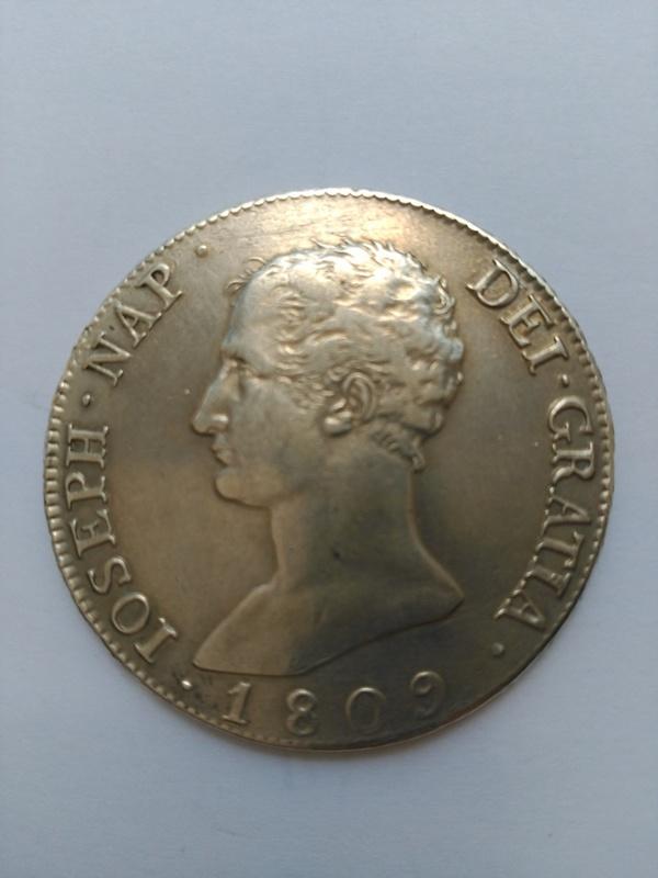 20 reales de Jose Napoleón año 1809 de Madrid  IMG_20160618_135429