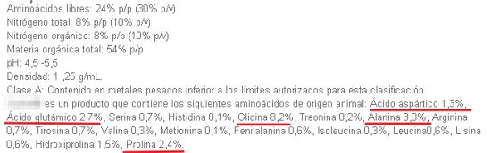 Bioestimulantes AMIN5