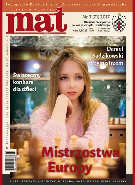 CHESS PERIODICALS :: Czasopismo MAT (Polish Chess Magazine) Mat-71-2017-07