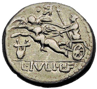 Glosario de monedas romanas. CUPIDO. Image