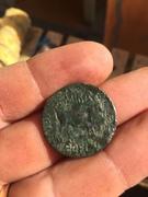 As de Calagurris usado como botón romano Image