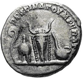 Glosario de monedas romanas. DESTINATO IMPERATOR. Image