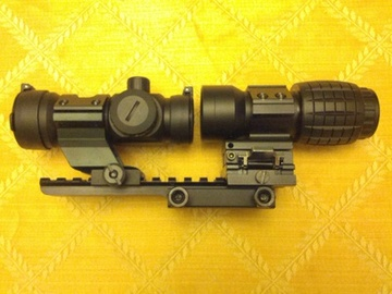 MERCA MILITRONCHI Nc_Star_Scope_Inline_with_Avenger_3_X_Magnifier_S