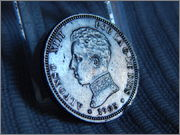 2 pesetas 1905. Alfonso XIII DSCN1987