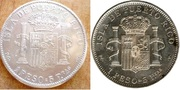 1 peso Alfonso XIII 1895 Puerto Rico. 5_1_Peso_1895_r