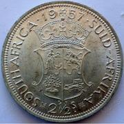 PREGUNTAS 2º CONCURSO 'mazinguer z' - Página 5 Two-and-half-shillings-south-africa-1957-silver