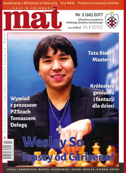 CHESS PERIODICALS :: Czasopismo MAT (Polish Chess Magazine) Mat-66-2017-02