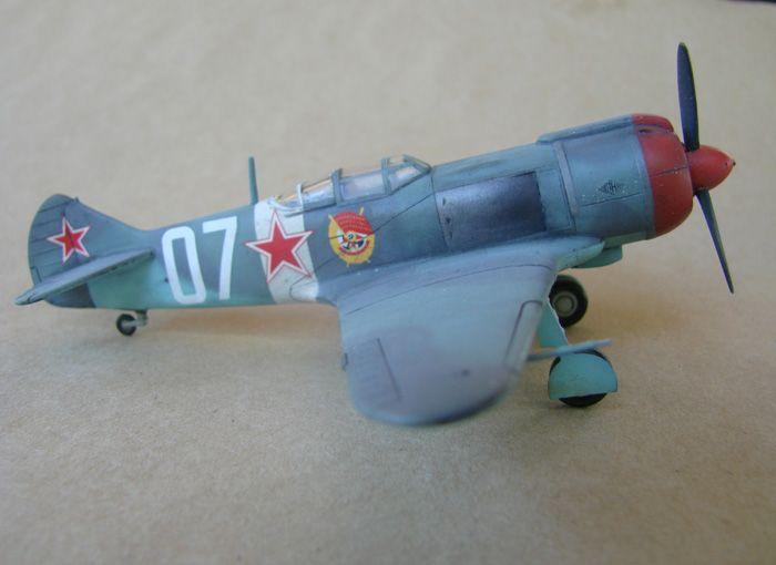 Lavočkin La-5FN, KP, 1/72 i Zvezda rebuild, 1/72 DSC01978