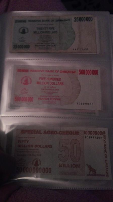 Billetes inflacionarios de Zimbabwe: aumento exponencial del precio IMG_20171221_180902