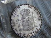 2 pesetas 1905. Alfonso XIII DSCN1973