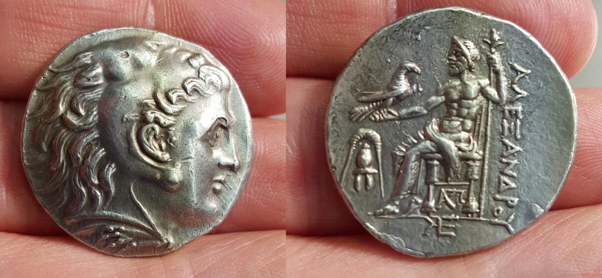 Tetradracma Alejandro III el Grande - Pella. 275-270 a.C. - Dedicada a Ilicitano IMG_20160411_WA0002