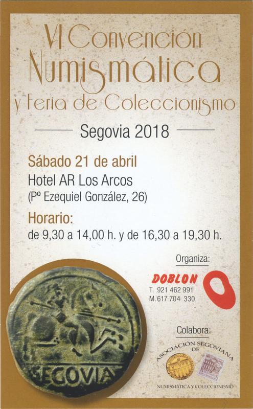 Convención Numismática Segovia, Sábado 21 de Abril 2018 Scan-180408-0002