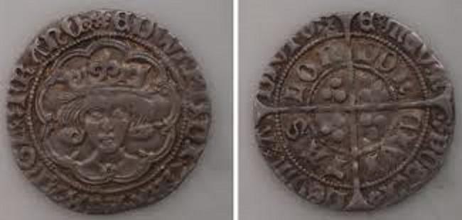Groat de Eduardo IV de York. Londres Eduardo_iv