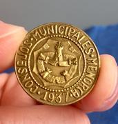 2,5 Pesetas 1937. Consejos Municipales  de Menorca. Opinión  IMG_6622