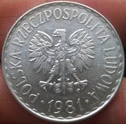 1 Zloty 1981 Polonia 1_Zloty_1981_Polonia_2