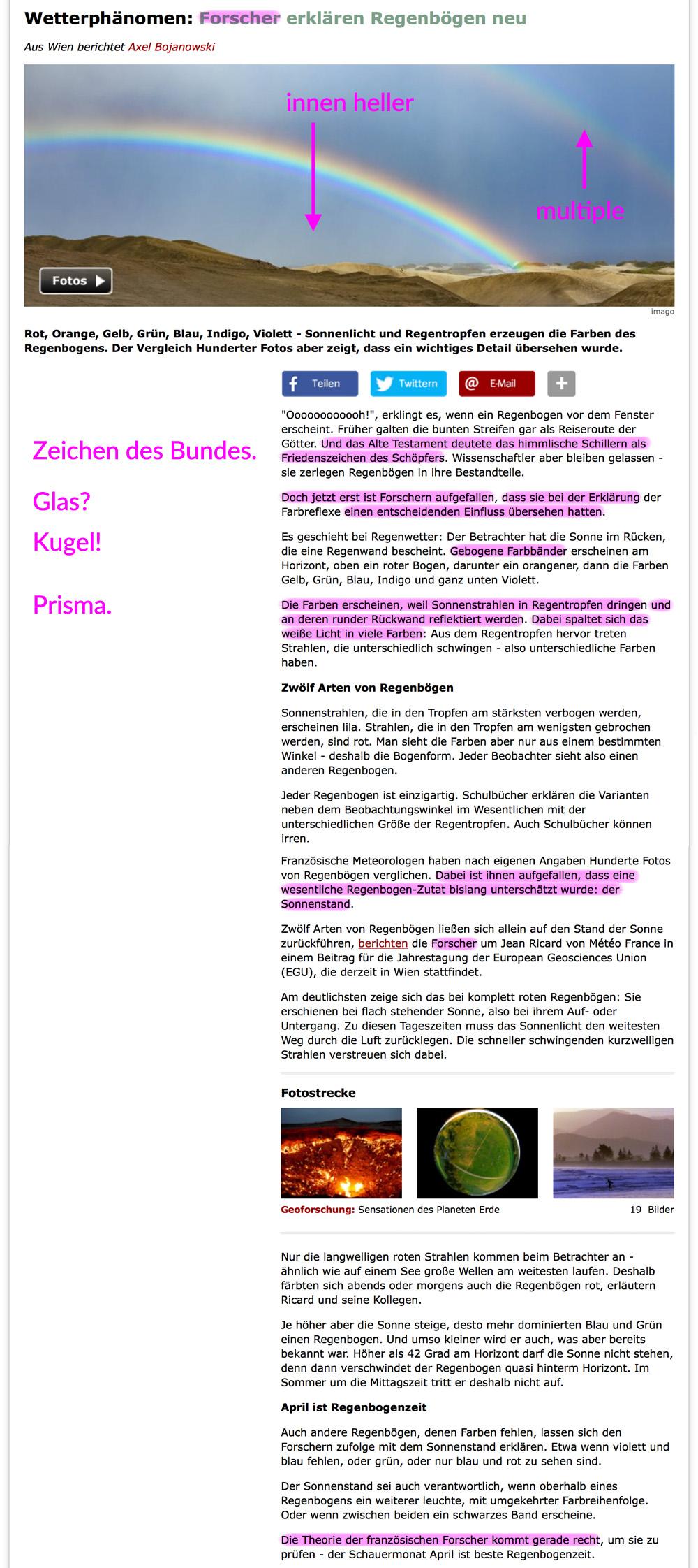 Die Erde, in der wir leben und der Raum, der die Welt ist - Seite 28 Regenbogen_01