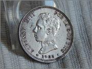 2 pesetas 1905. Alfonso XIII DSCN1960