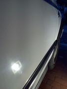 lucidatura Golf mk3 bianco pastello ormai opaco con quasi 21 anni  P_20170212_171413