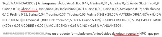 Bioestimulantes AMIN2