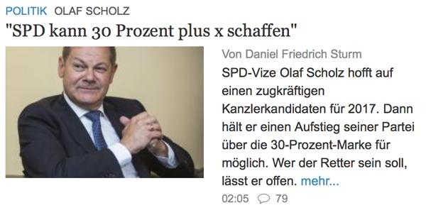 Umfrage / Vorerklärung: Wer wird SPD-Kanzlerkandidat? Scholz_001