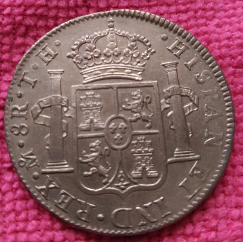 8 Reales 1809. Fernando VII. Méjico T.H. Busto imaginario IMG_20180415_105042