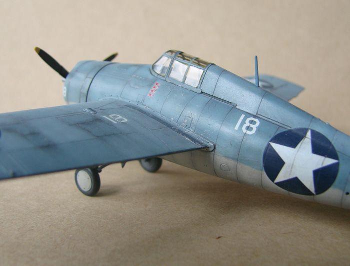 F4F-4 Wildcat, Hasegawa, 1/72 DSC02011