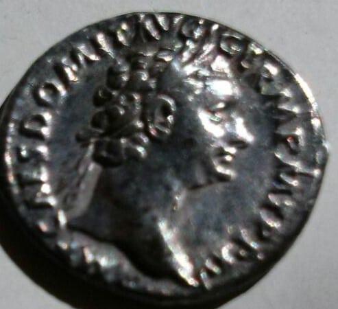 Denario de Domiciano. IMP XXII COS XVII CENS P P P. Minerva estante. Ceca Roma. Ac4d012f_e2ce_463e_a601_ba9b4b84718f_2