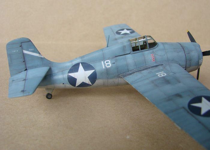 F4F-4 Wildcat, Hasegawa, 1/72 DSC02013