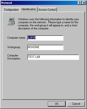 How to Network Windows 7 and Windows 98 WIN98_SS2
