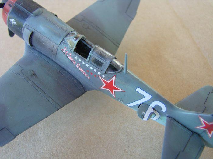 Lavočkin La-5FN, KP, 1/72 i Zvezda rebuild, 1/72 DSC01966