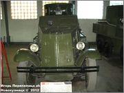 Советский средний бронеавтомобиль БА-3, Танковый музей, Кубинка 6_029